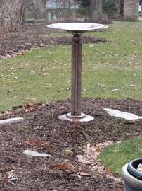copper stand / birdbath