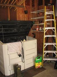 Werner ladder, garden box