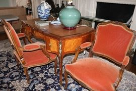 Frenck Desk and Chairs
