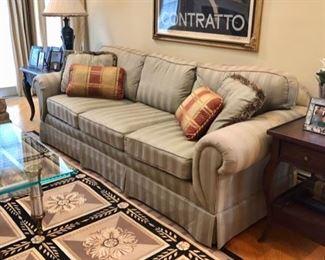 Living room sofa & end tables