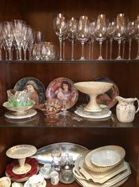 Glassware & collectibles