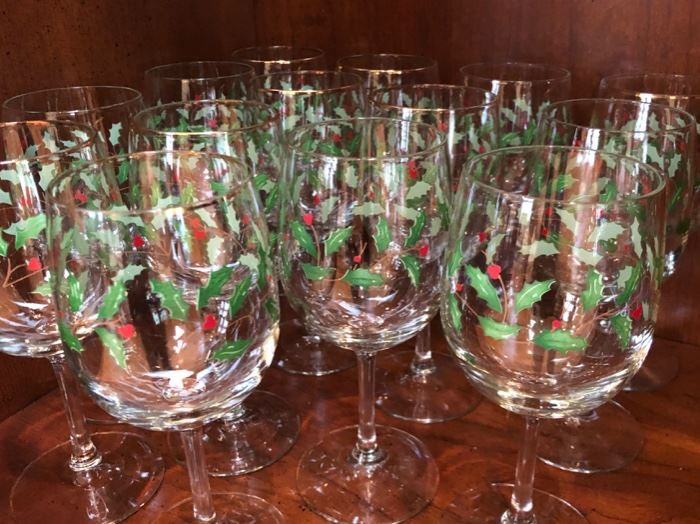 Lenox glassware