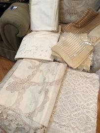 Fine tablecloths