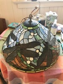 Stained glass lamps & lighting