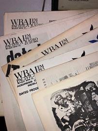 WBAI Pacifica Radio magazines