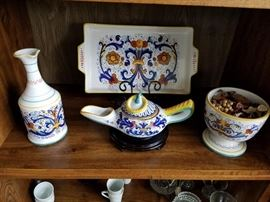 Pottery from Italy/Portugal and more!