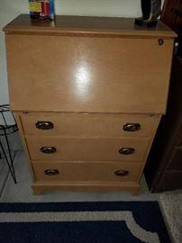 A q-t-pi of a Vintage Secretary Desk
