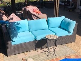 Porch Furniture - Couch (great condition)