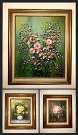Original Vintage oil paintings