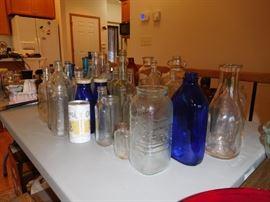 vintage & antique bottles