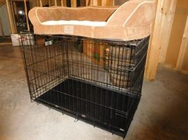 pet carrier and pet bed
