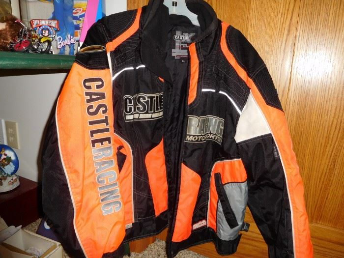 Castle racing jacket Mens M