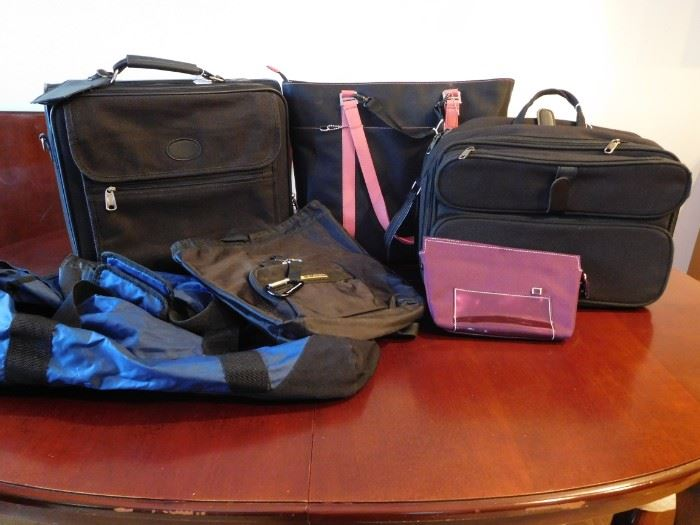 Laptop and Duffel bags