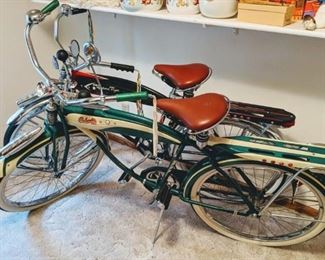 •Columbia RX-5 Bicycle (1985 Reproduction) •Western Flyer Classic Springer Bicycle (1985 Reproduction)