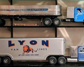 Fred Thompson Smith Miller Lyon Van Lines Semi Truck and Trailer Fred Thompson Smith Miller Silver Streak Express