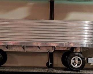 1950's Smith Miller Silver Streak Semi Truck and Trailer