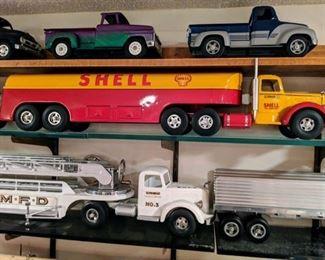 Fred Thompson Smith Miller B Mack Shell Gasoline Tanker