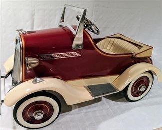 1934 Custom American National Buick Pedal Car (Professional Custom Reproduction by Bob Olson)