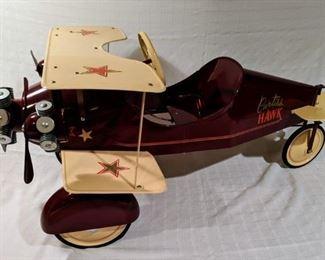 Curtiss Hawk Pedal Plane (Professional Custom)