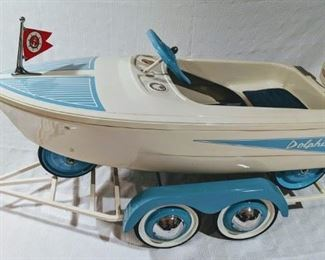 1960 Murray Dolphin Pedal Boat (Professional Restoration)