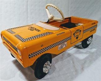 1960 AMF Checker Cab Pedal Car (Professional Restoration)