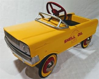 """1968 Murray Tooth Grille """"Shell Oil"""" Pedal Car (Professional Restoration)"""