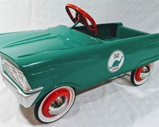 1960 Murray V Front Sinclair Gasoline Pedal Car (Professional Restoration)