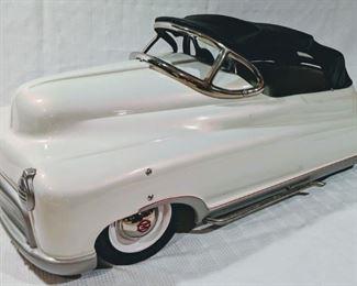 1950's Murray Comet Lowered Convertible Top Pedal Car (Professional Custom Restoration)