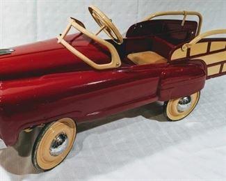 1952 Murray Pontiac Champion Station Wagon Pedal Car (Professional Restoration)
