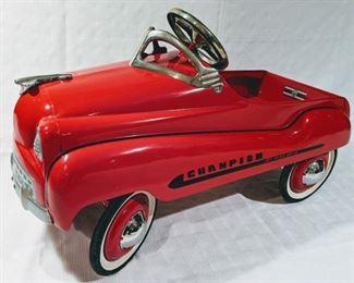 1955 Murray Dip Side Champion Pedal Car (Professional Restoration)