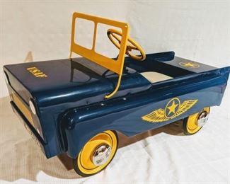1959 Garton USAF Jeep Pedal Car (Professional Restoration)