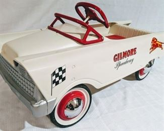 1957 Murray Flat Face Gilmore Speedway Pedal Car