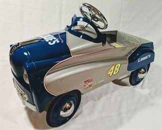 Jimmie Johnson Lowe's Custom NASCAR Pedal Car (Professional Custom)