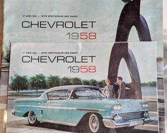 One of the 30,000 vehicle brochures.