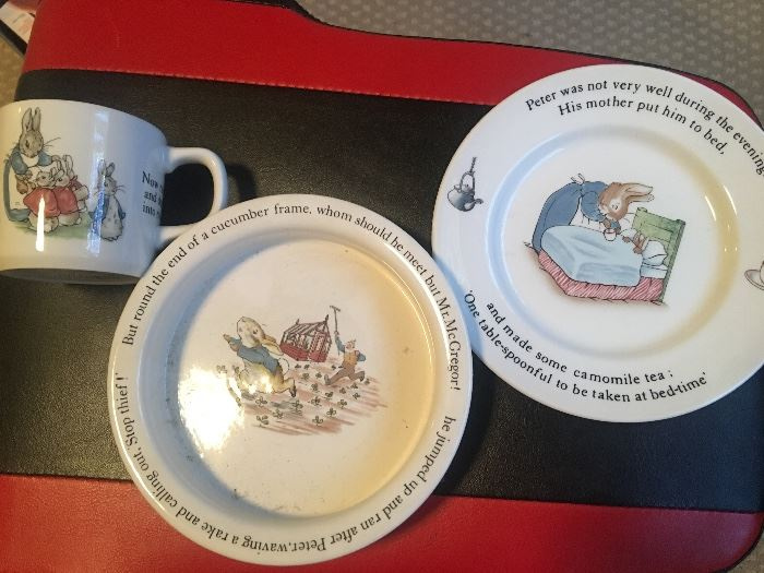 "Dishes by ""Wedgwood"""