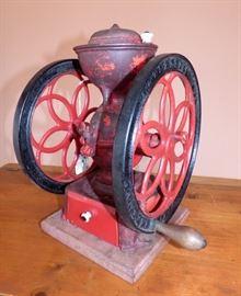 Antique Enterprise Cast Iron Coffee Grinder