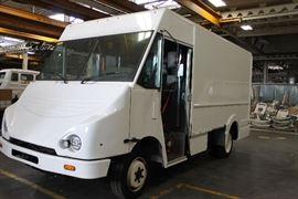 Gas box truck