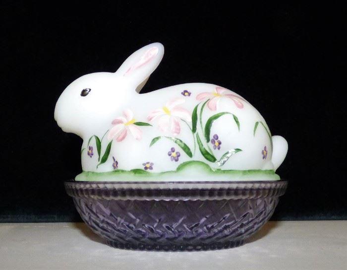 Fenton Rabbit on Nest