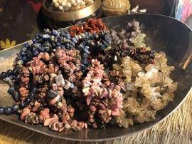 Stone & crystal bracelets