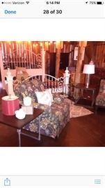 Accent Chairs and End Tables, Lamps