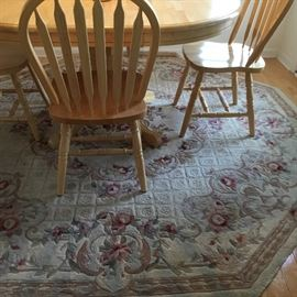 Several area rugs for sale