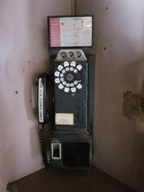 Payphone from Cunninghams drug store on Gratiot in Roseville