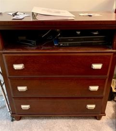 TV dresser with drawers