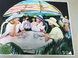 """Original watercolor.  22""""w x 17""""h"""