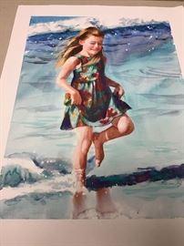 """Original watercolor.  20""""w x 26""""h"""