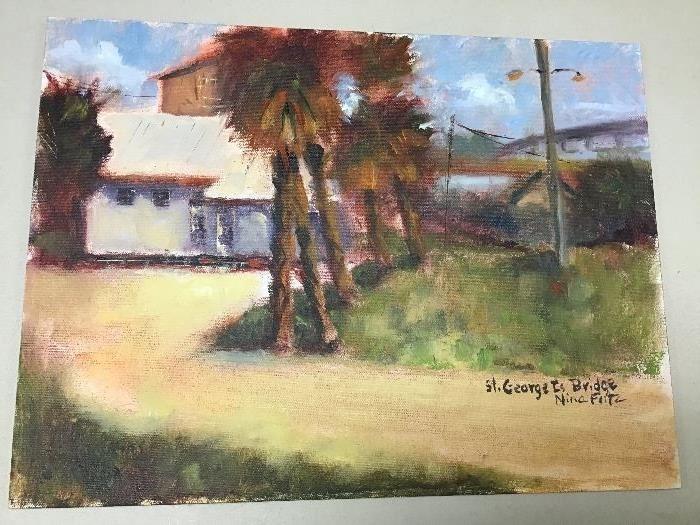 """Original watercolor.  16""""w x 12""""h"""