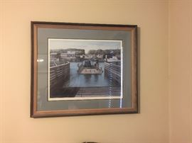Old Ferry (Holden Beach) Framed Print by Bryan Varnam