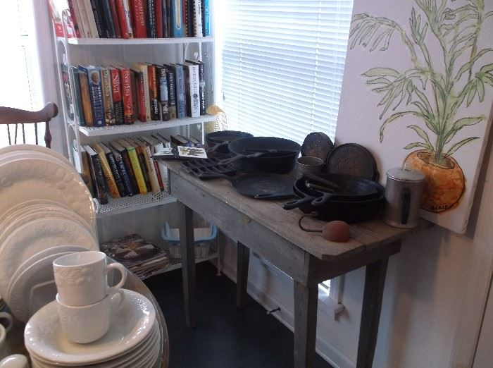 Primitive work table