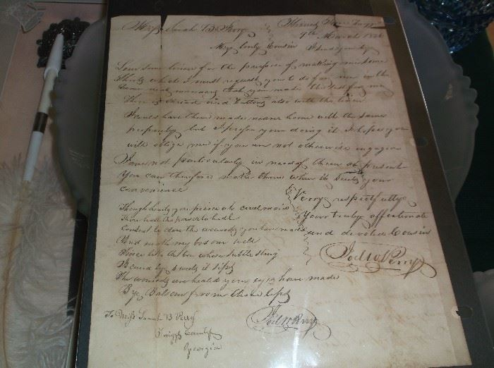 Letter dated 1826