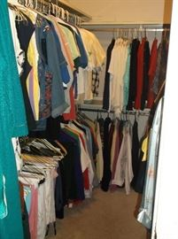 Lots of nice clothing